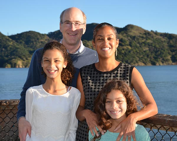 Doug Winthrop with family