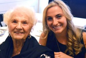 Marlo with Grandmother