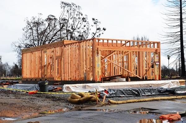 Rebuilding After Sonoma Fires