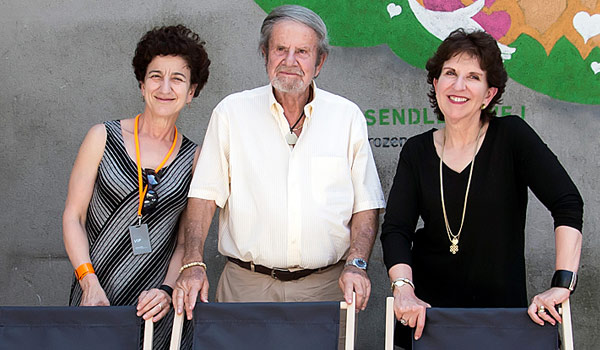 Shana Penn, Tad Taube, and Anita Friedman.