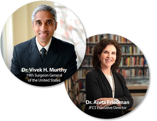 Dr. Vivek H. Murthy and Dr. Anita Friedman