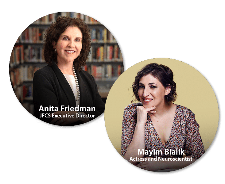 Dr. Anita Friedman and Mayim Bialik, PhD